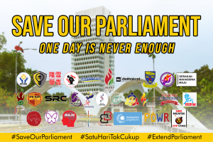 Save Our Parliament